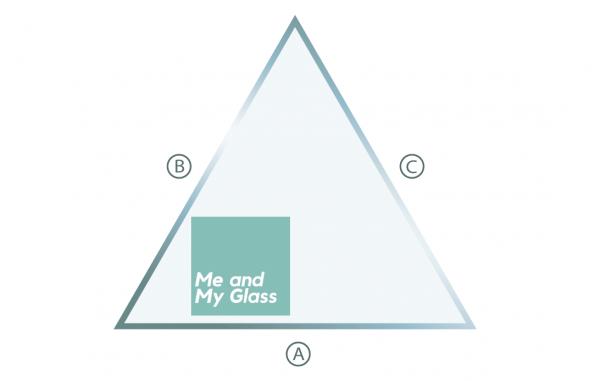 triangle greenhouse glass