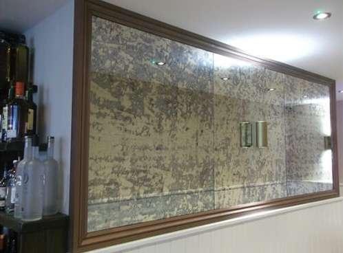 Antique Mirror Glass