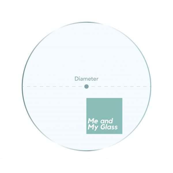 circular glass